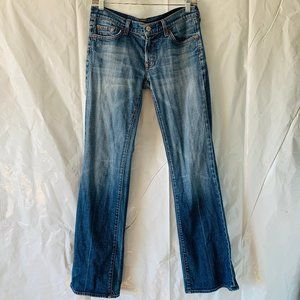 Seven for all Mankind Slight Bootcut Blue Jeans